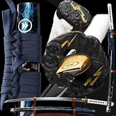 Damascus Folded steel blade Chinese sword of Han dynasty sharp knives nice gift