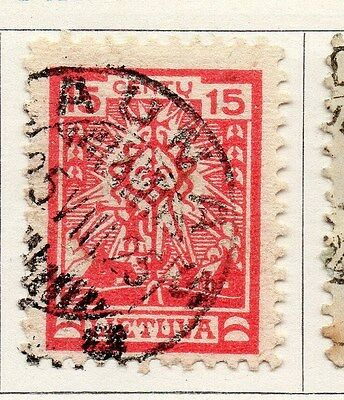 Lithuania 1923 Early Issue Fine Used 15c. 104217