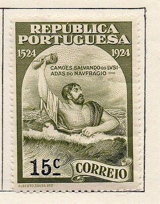 Portugal 1924 Early Issue Fine Mint Hinged 15c. 103851