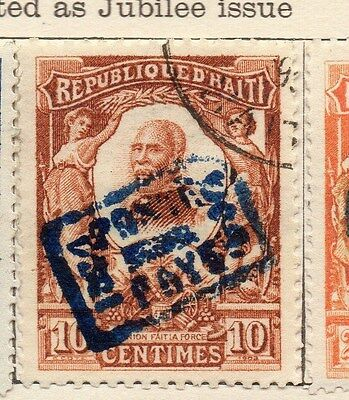 Haiti 1904 Regular Optd Issue Fine Used 10c. 106584