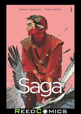 SAGA VOLUME 2 GRAPHIC NOVEL New Paperback Collects Issues #7-12