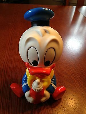 Vintage Baby Donald Duck Squeek Rubber Toy- Shelcore