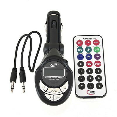 Wireless Car FM Transmitter MP3 Player Radio USB Charger Hands Free iPads iPods