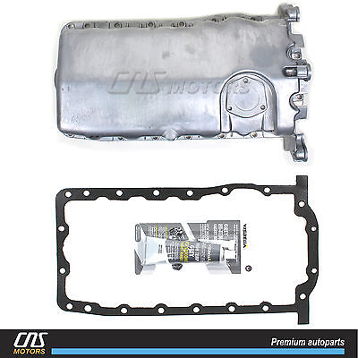 Engine Oil Pan w/ Gasket & Silicone for 98-06 VW Beetle Golf Jetta 1.9L 2.0L