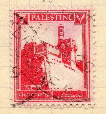 Palestine Early 1927 Issue 7m. Fine Used 97285