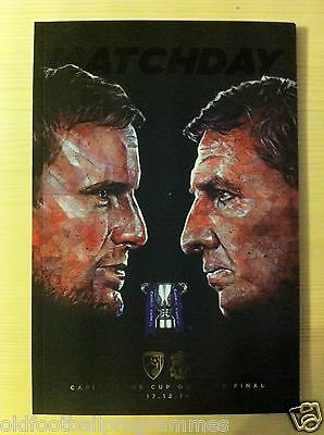 2014 Capital One Cup Final Programme *(Bournemouth V Liverpool)*