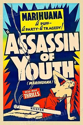 """""""Assassin of Youth"""" 1937 Vintage Movie Poster - 24x36"""