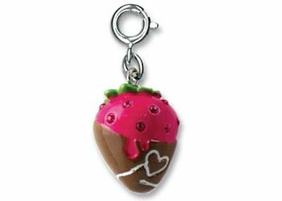 BNWT Charm It! CHOCOLATE STRAWBERRY clip-on charm for girls