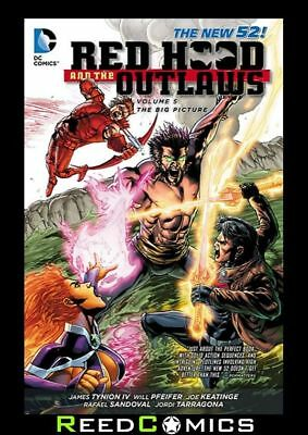 Red Hood And The Outlaws Volume 5 The Big Picture Graphic Novel (2011) #27-31