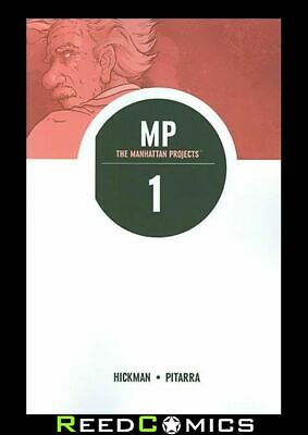 THE MANHATTAN PROJECTS VOLUME 1 SCIENCE BAD GRAPHIC NOVEL New Paperback #1-5