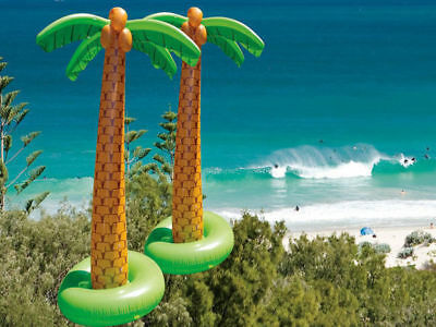 1 inflatable palm tree 1.8 meters great hawaiian theme party pool toy