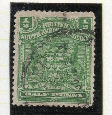 Rhodesia 1898-1908 Springbok Type Early Issue Fine Used 1/2d. 115468