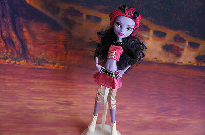 Fashion Cool Uniform Outfit Clothes FOR Monster High Doll girl's Xmas gift H11