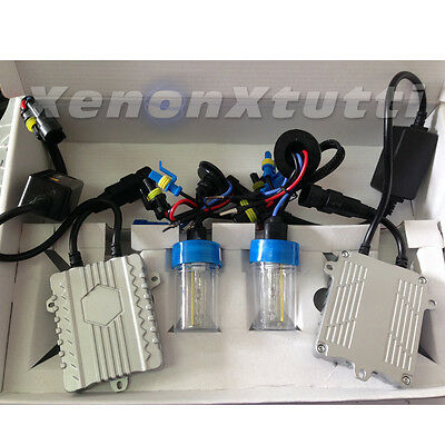 Kit Xenon Slim Eco Fast Start Bright 55W Accensione Rapida Abbaglianti H7 H1 H3