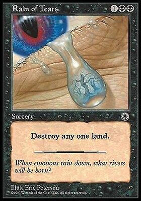 2x Pioggia di Lacrime - Rain of Tears MTG MAGIC Por Portal Eng/Ita