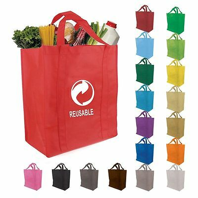 100 custom Imprinted Grocery Reusable Tote Bags With Your Logo