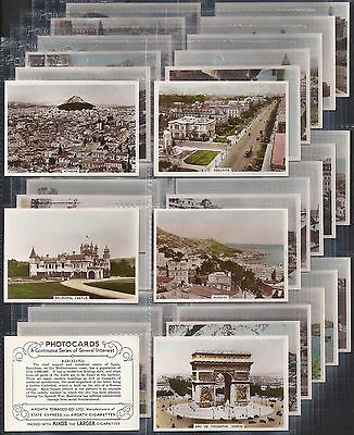 Ardath-Large Card Set- Photocards Views Of The World - Exc