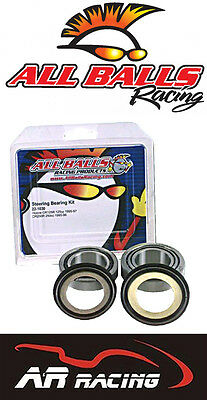 All Balls Steering Head Bearings inc Seals to fit Honda 750 Africa Twin 1990-03