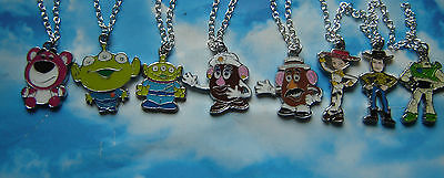 ToY SToRy PeNDaNT CHaRaCTeR NeCKLaCe WooDy JeSSiE LoTSo BeAR MR MRs PoTaTO HeAD