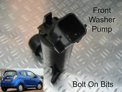 Front Windscreen Washer Pump Chevrolet Spark 2010 2011 2012 2013 2014 1.0 1.2