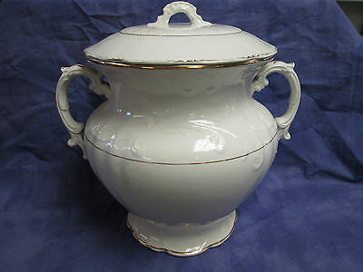 Antique Large Chamber Pot With Lid VERONA V.P.CO