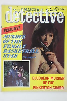 Master Detective May 1982 Magazine Crime Grabowski Case Murdered Basketball Star