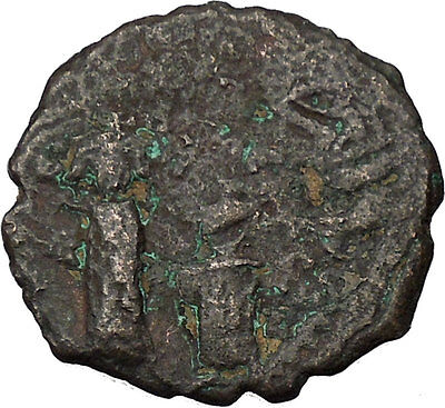 Heraclius & Heraclius Constantine 610AD Medieval Ancient Byzantine Coin i46074