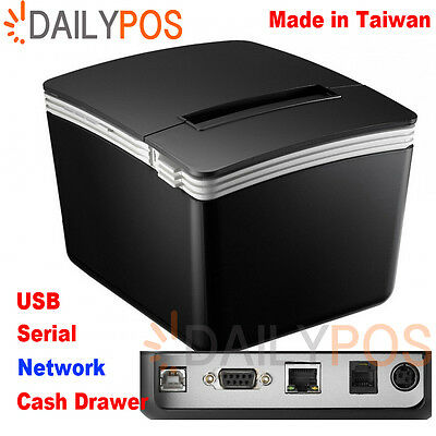 New 80MM POS Kitchen Receipt Printer with Auto cutter ( Network )