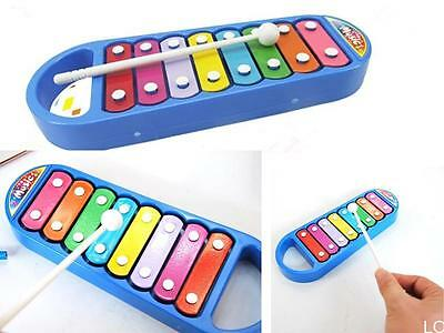 LOUS  Child Kid Baby Musical Instrument 8-Note Xylophone Toy Wisdom Development