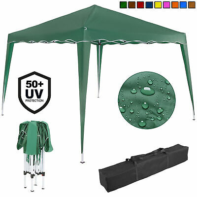 Deuba® Pavillon Capri 3x3m Faltpavillon Popup UV-Schutz 50+ Seitenteile optional
