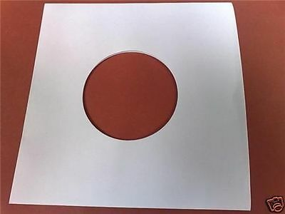 "12"" Inch Vinyl Record White Paper Inner Covers Sleeves 10 25 50 100 200 500"