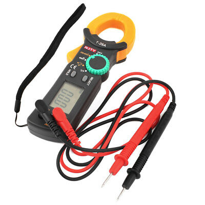 New T-26A AC DC Voltage LCD Digital Clamp Multimeter Electronic Tester Meter