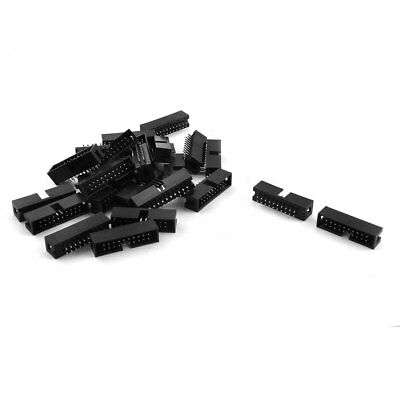 24 x 2.54mm 20Pin Male Straight JTAG Header Connector for Flat Ribbon Cable