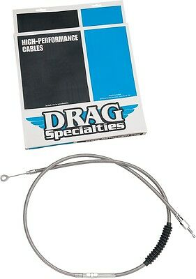 Drag Specialties Braided High Efficiency Clutch Cable 62 11/16in. 0652-1442