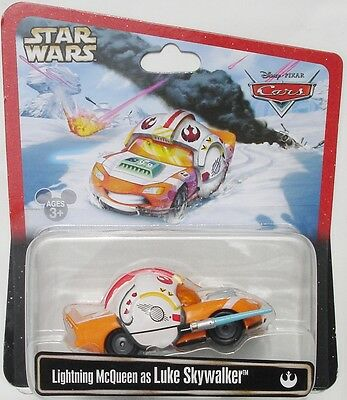 ++ Disney Pixar Cars 2013 Star Wars, Lightning McQueen As Luke Skywalker