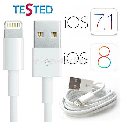 1x 3x 5x USB Data Sync Charger Charging Cable Cord For iPhone 6 6+ 5 5S 5c iPod