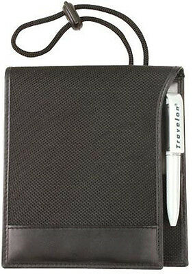 Travelon RFID Blocking ID & Boarding Pass Holder Wallet 82021 - Black