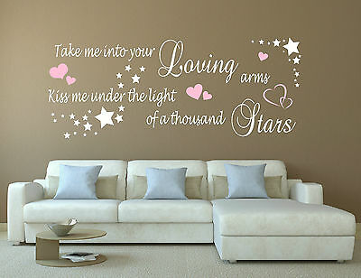 Mcfly McBusted Shine a Light Song Music Lyrics Love Quote Sticker Wall Art