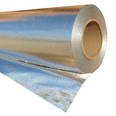 2'x50' Radiant Barrier Solar Attic Perforated Foil Reflective Insulation