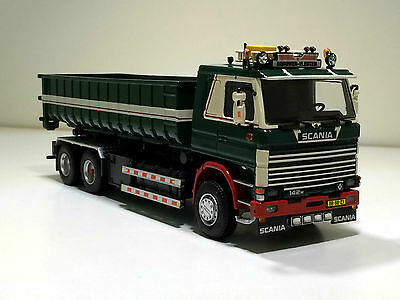 """TEKNO SCANIA 142 WITH NCH CONTAINER SYSTEM SINGLE TRUCK """"ANTON BROUWER'"""