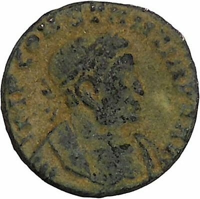 Constantine I the Great Authentic Ancient Roman Coin Sol  Sun God Cult  i45920