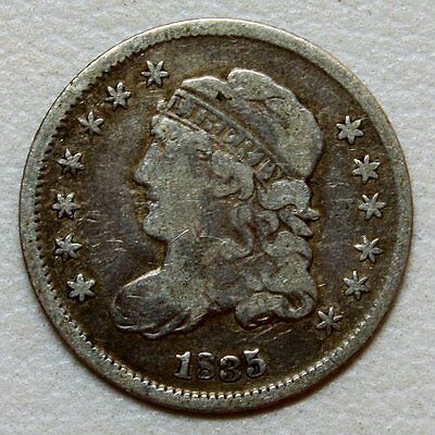 1835 Capped Bust Half Dime * Great Details