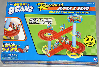 Mighty Moose Beanz Racetrack Super S-Bend With 2 Limited Edition Racing Beans