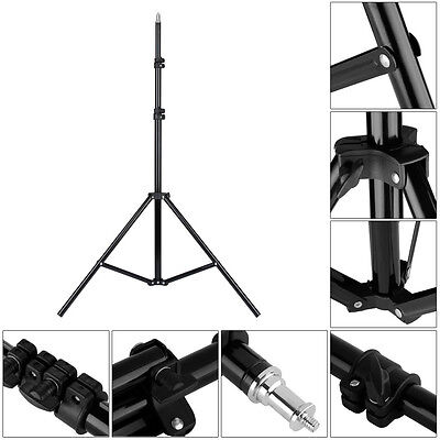 Professional Photo Photography Video Studio 2.1m 6ft Light Stand Tripod Lighting