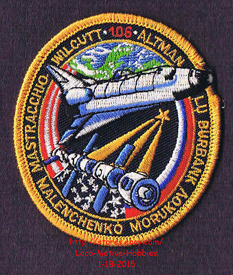 LMH PATCH Badge NASA SPACE SHUTTLE Atlantis 2000 STS-106 Mission Insignia Altman