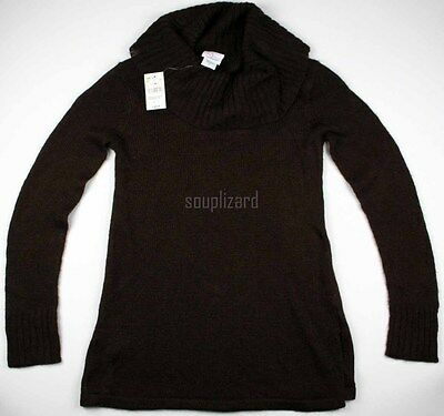 New Womens Oh Baby Motherhood Maternity Sweater Cowl Neck NWT Size Sz S M L XL