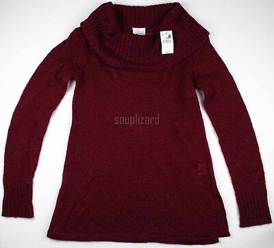 New Womens Oh Baby Motherhood Maternity Sweater Cowl Neck NWT Size Sz S L