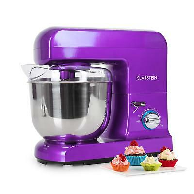 1000W Kitchen Food Processor 5L Stand Dough Mixer Stainless Steel- Purple