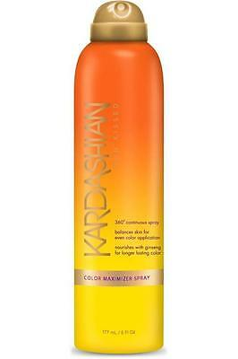 Kardashian Sun Kissed Colour Maximiser Spray 177ml Step 1
