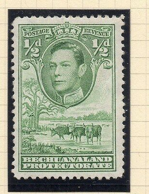 Bechuanaland 1938 GVI Early Issue Fine Mint Hinged 1/2d. 116748